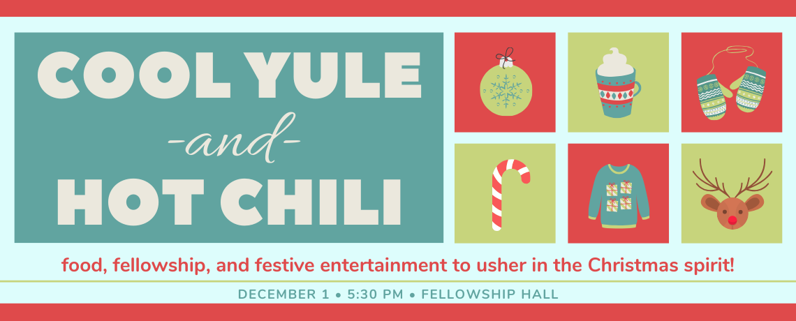 Cool Yule and Hot Chili