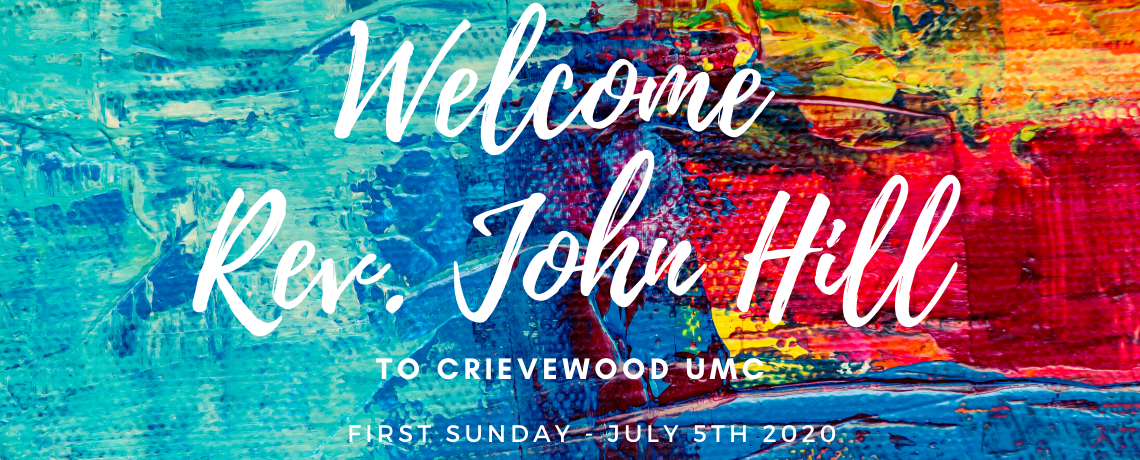 Welcoming John Hill to CUMC!